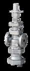 Ze sterowaniem pneumatycznym: PN-COS16