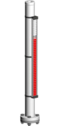 Typ 34300-A - Seria Standard 28 bar - Poziomowskazy magnetyczne - WEKA