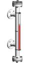 Typ 32755-O - Seria Standard 50 bar - Poziomowskazy magnetyczne - WEKA