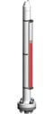 Typ 36800-A - Seria High pressure 80 bar - Poziomowskazy magnetyczne - WEKA