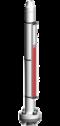 Typ 26411-A - Seria HIGHPRESSURE 100 bar - Poziomowskazy magnetyczne - WEKA
