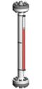 Typ 26411-B - Seria HIGHPRESSURE 100 bar - Poziomowskazy magnetyczne - WEKA