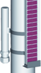 Osprzęt do poziomowskazów: Typ 31160-NW