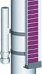 Osprzęt do poziomowskazów: Typ 31160-NM