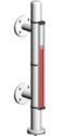 Typ 23614E-K - Seria Economy  6 bar - Poziomowskazy magnetyczne - WEKA