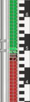 Listwy wskaźnika i skale: Skala